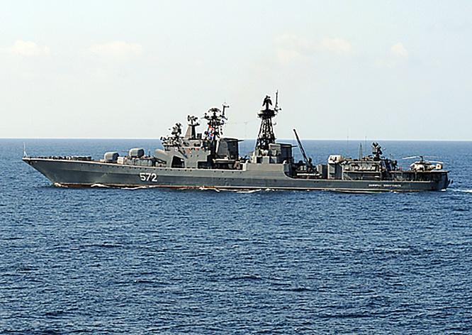 Большой противолодочный корабль ТОФ «Адмирал Виноградов».