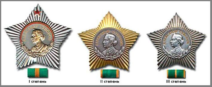 В годы Великой Отечественной войны был учреждён орден Суворова.