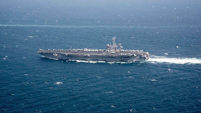 Показатель вакцинации среди моряков авианосца «Дуайт Д. Эйзенхауэр» составляет 80%.