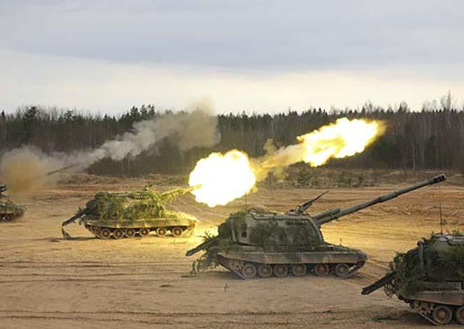 В рамках обучения военнослужащими будут опробованы новые методы огневого поражения.