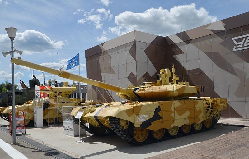 Правительство Индии одобрило запрос военного ведомства на закупку 464 танков Т-90МС.