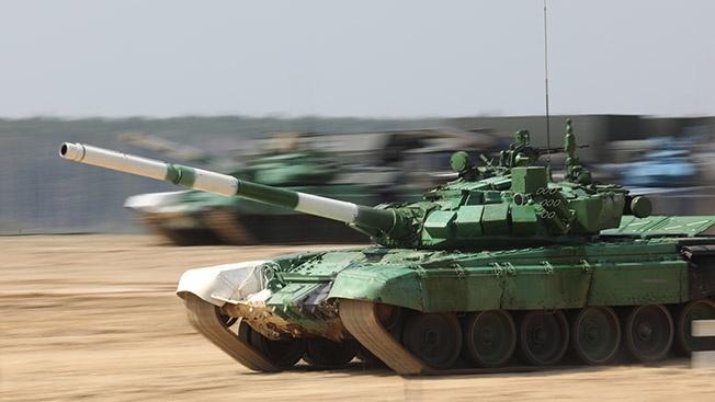 Наши танки не только быстрые