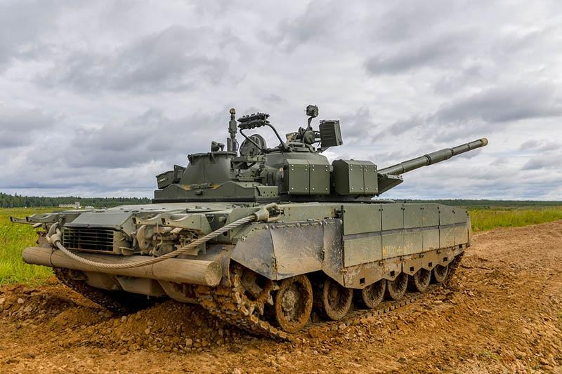 Танкисты ЗВО в Подмосковье получили танки Т-80БВМ.