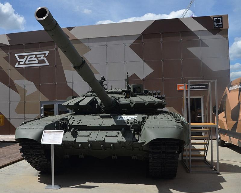 Т-72Б3М выставлялись на площадках форума «Армия».
