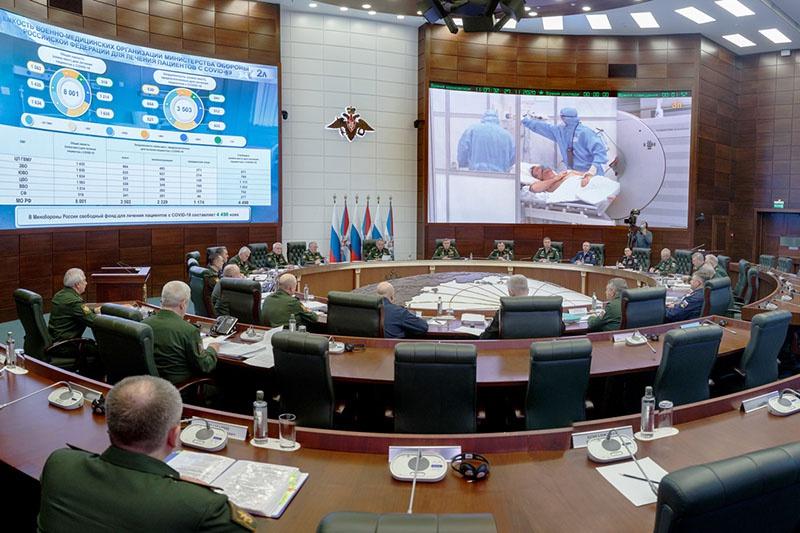 На заседании Коллегии Минобороны РФ. Москва, 27 ноября 2020 года.