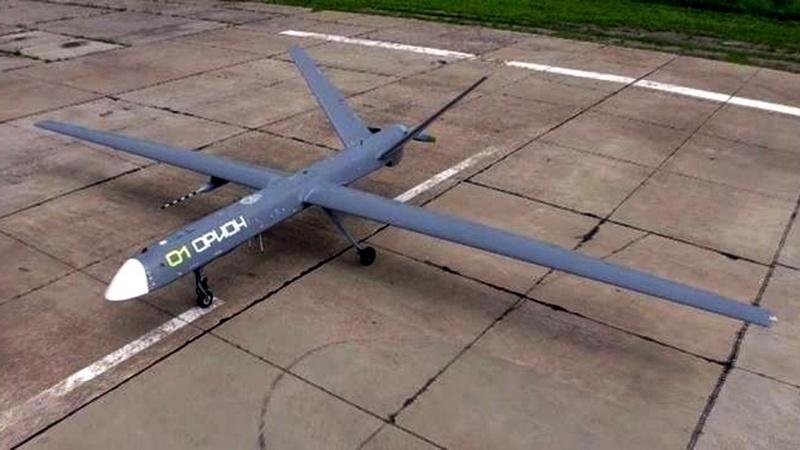 Новый российский ударный беспилотник «Орион-М», который недавно поступил на вооружение флотских структур.
