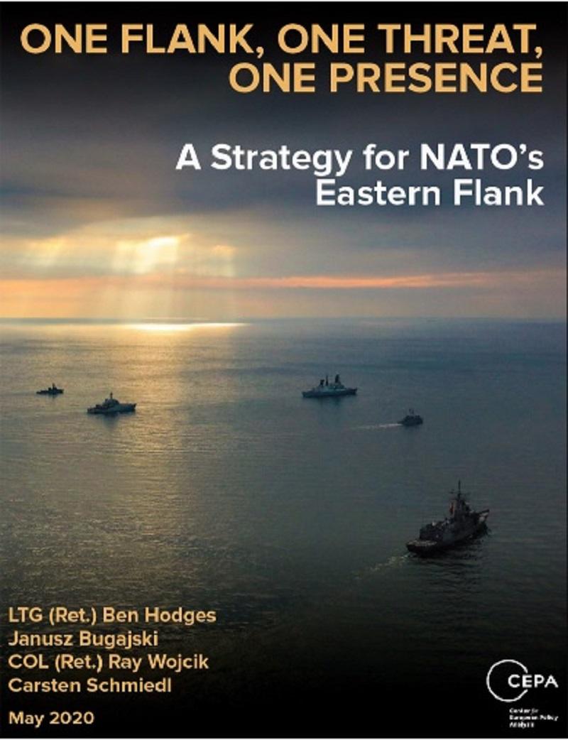 Доклад американского Центра анализа европейской политики «Один фланг, одна угроза, одно присутствие. Стратегия для восточного фланга НАТО».