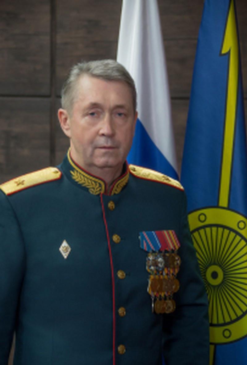 Начальник Военной академии РВСН имени Петра Великого генерал-майор Леонид Михолап.