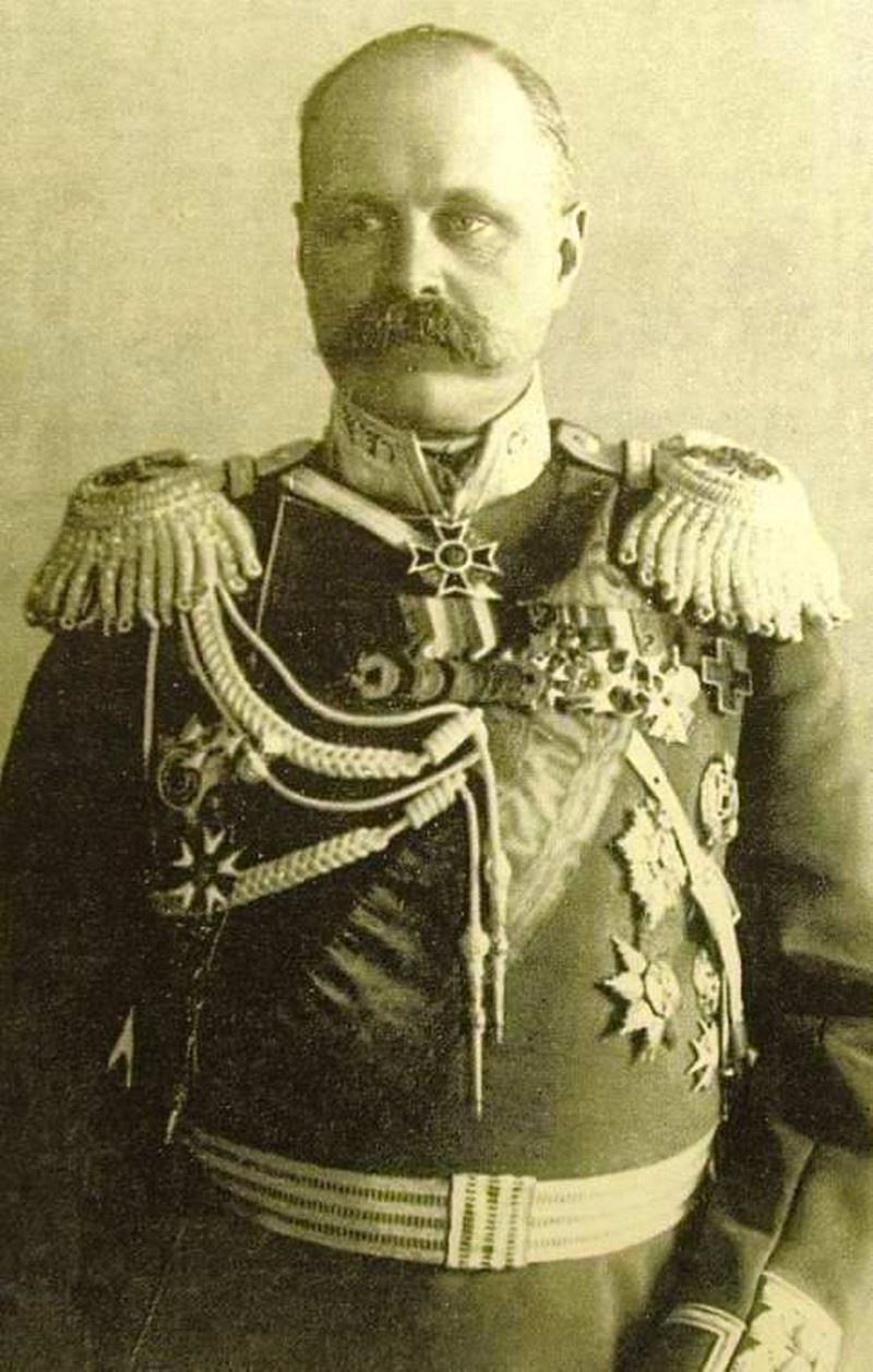 Владимир Фёдорович Джунковский - командующий Отдельным корпусом жандармов.