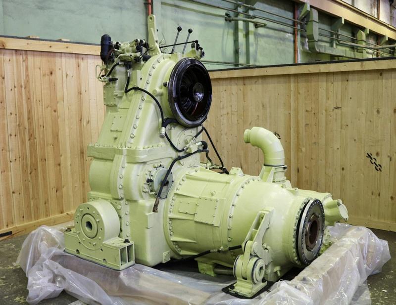 Главная передача двигателей типа М507.