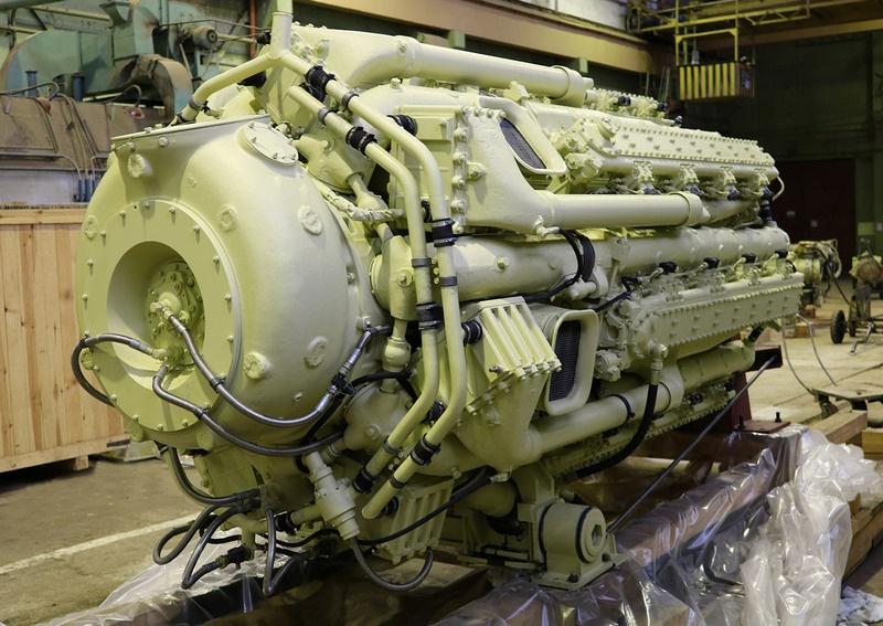 Двигатель типа М503.