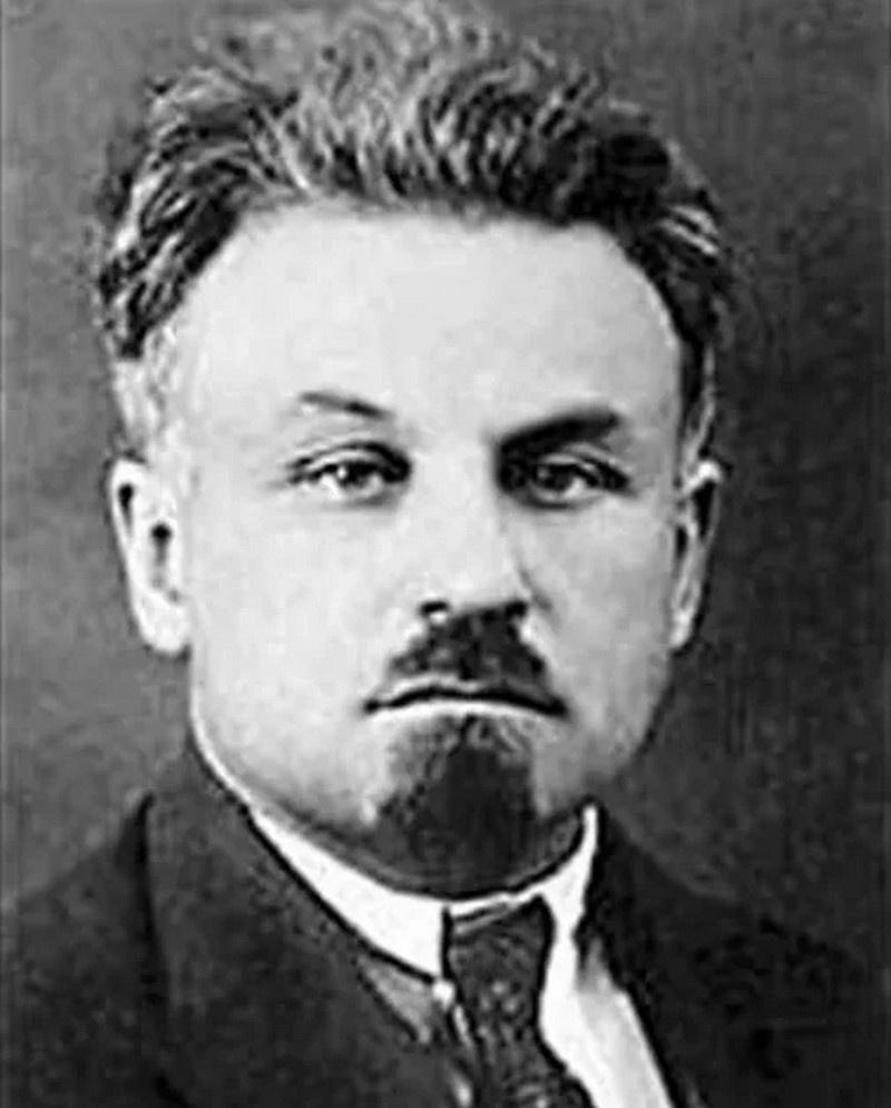 Начальник контрразведывательного отдела Артур Артузов.