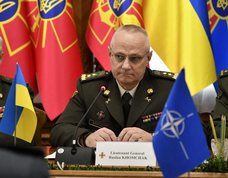 Главнокомандующий ВСУ генерал Руслан Хомчак.
