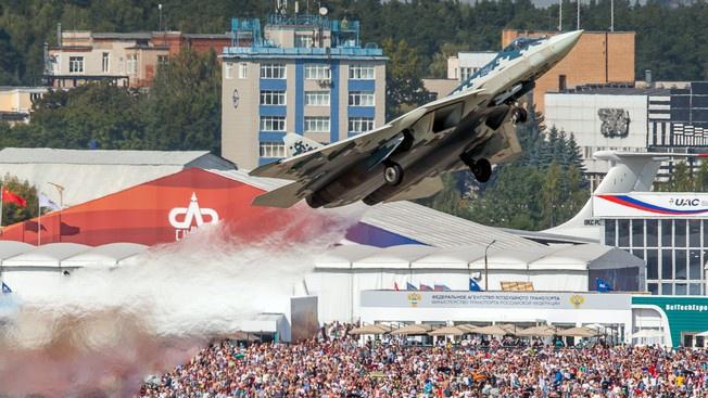 Су-57 истребитель не V, а почти VI поколения