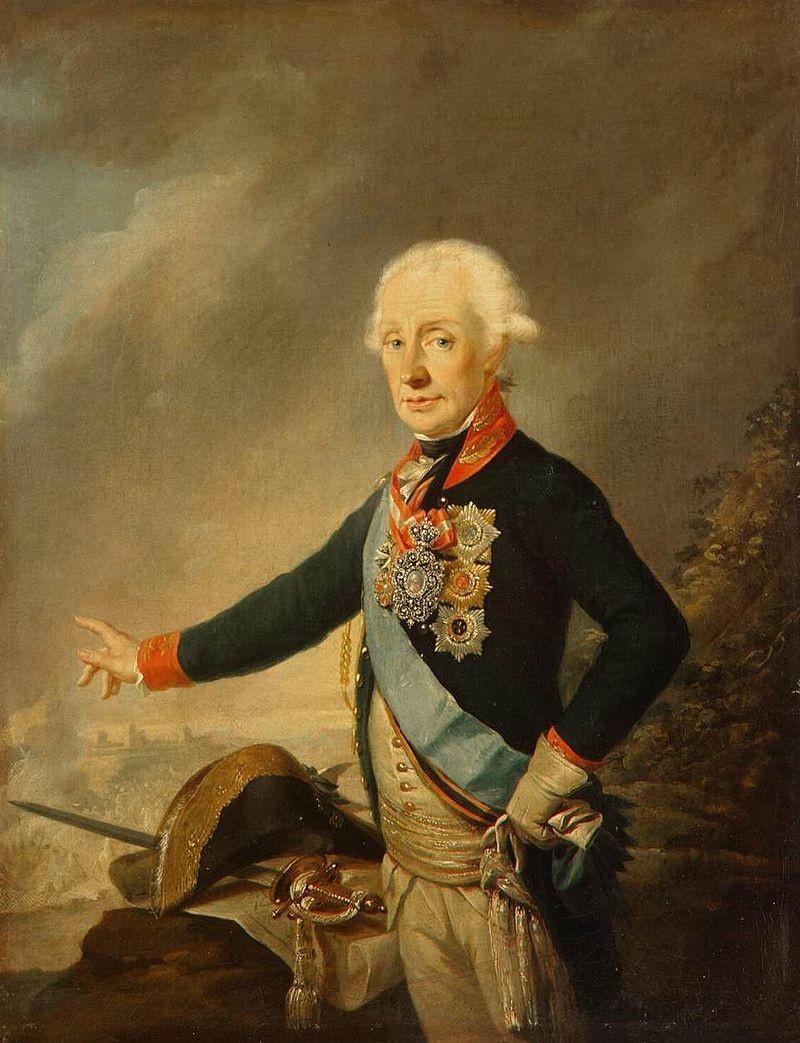 Портрет фельдмаршала графа А. В. Суворова, 1799 год.