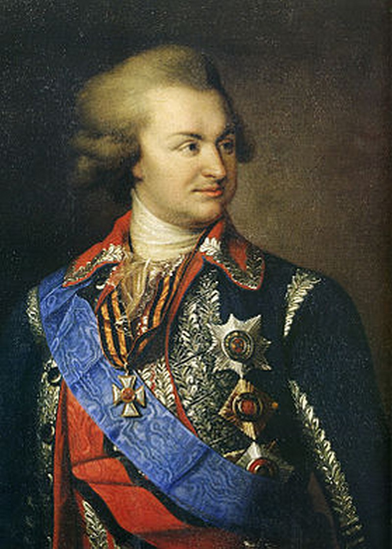 Князь Г.А. Потемкин-Таврический.
