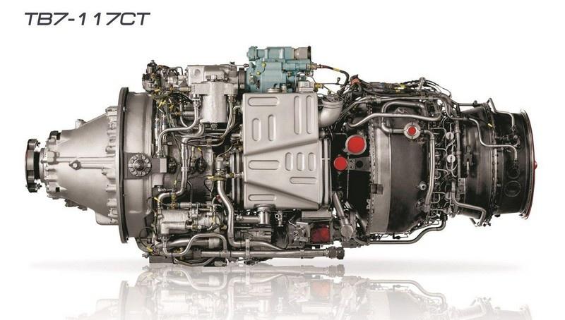 Авиадвигатель ТВ7-117СТ.