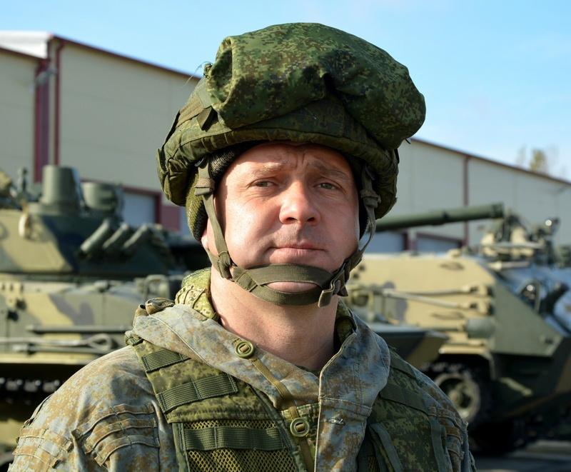 Гвардии майор Артём Сальников.