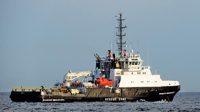 Морской спасатель от киля до клотика