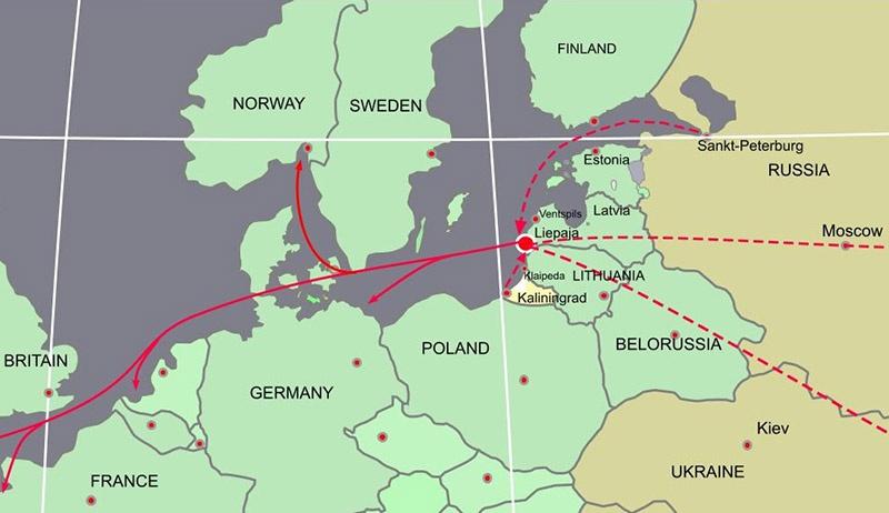 Литва долгое время существовала за счёт своего транзитного потенциала.