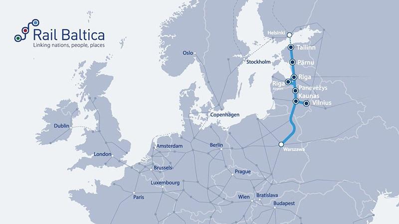 Rail Baltica попала под сокращение финансовой поддержки из бюджета Евросоюза на 2021-2027 гг.