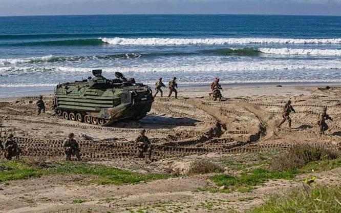 Американо-японские военные манёвры Iron Fist 2020.