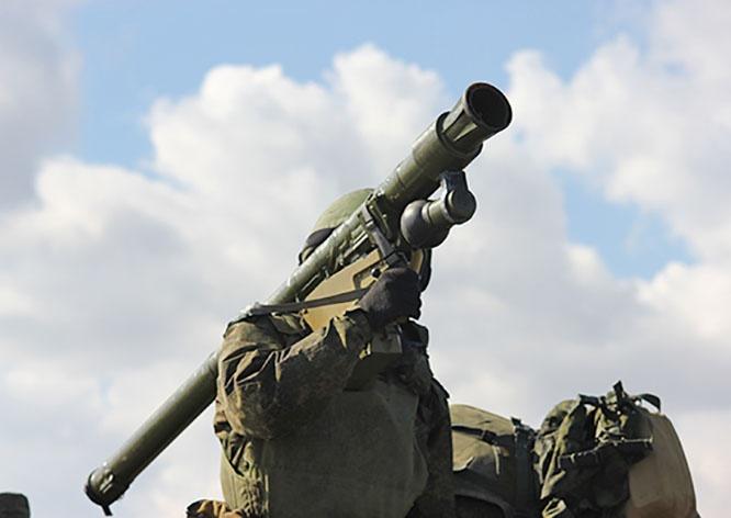 На вооружении в частях и подразделениях войсковой ПВО стоят переносные зенитные ракетные комплексы «Верба».