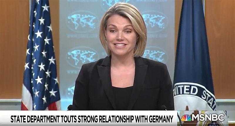 Хизер Нойерт проговорилась о крепких отношениях с гитлеровской Германией.