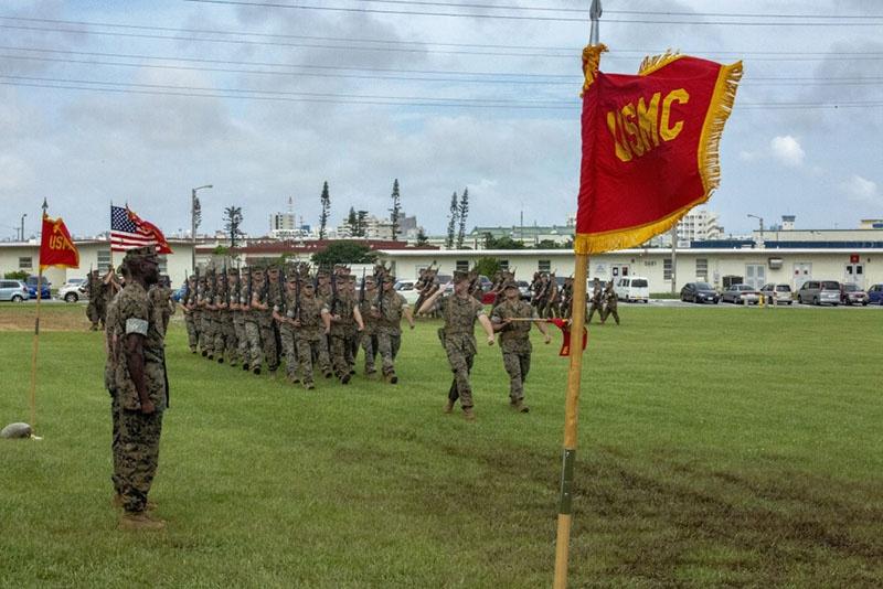 Американская военная база Фостер на Окинаве.