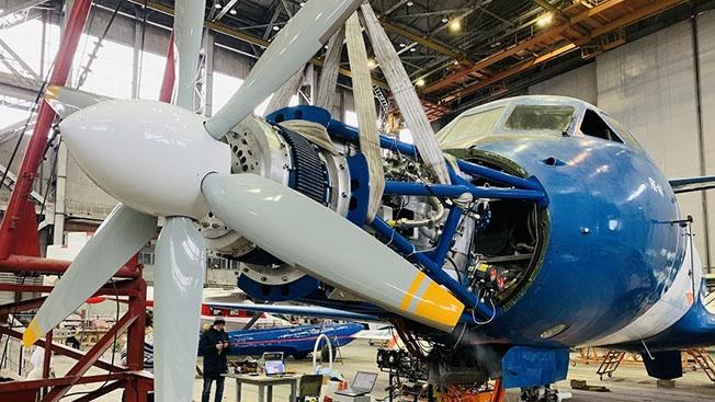 Региональная авиация скоро полетит на криогенных двигателях
