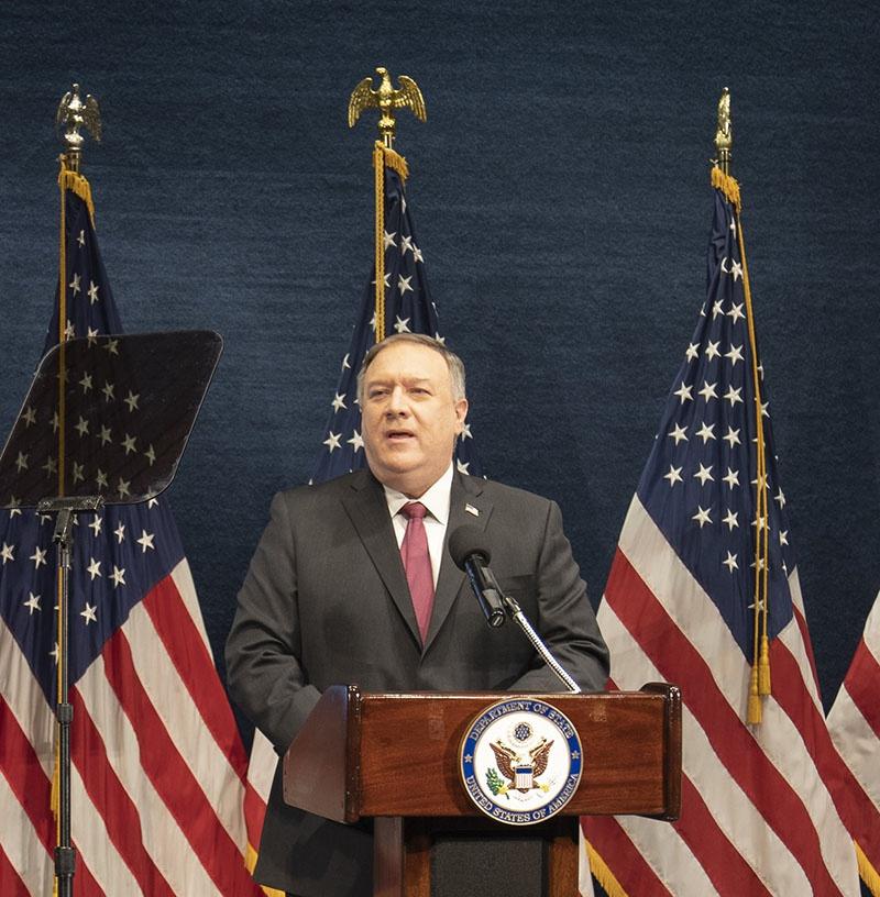 Перед увольнением госсекретарь США М. Помпео распространил заявление о том, что Госдепартамент внёс Кубу в список государств-спонсоров терроризма.