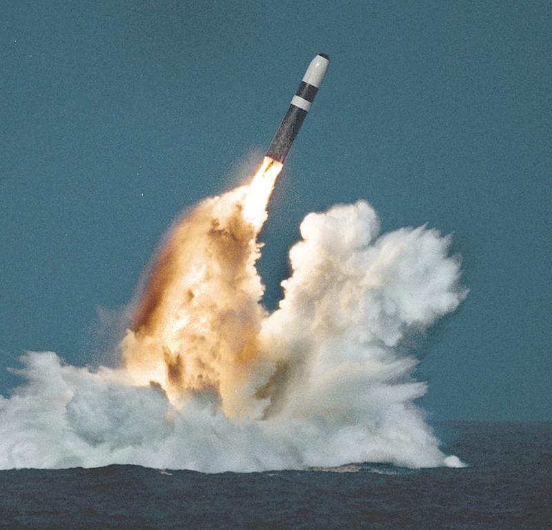 На армейских складах в США находится больше тысячи боеголовок для ракет «Трайдент».