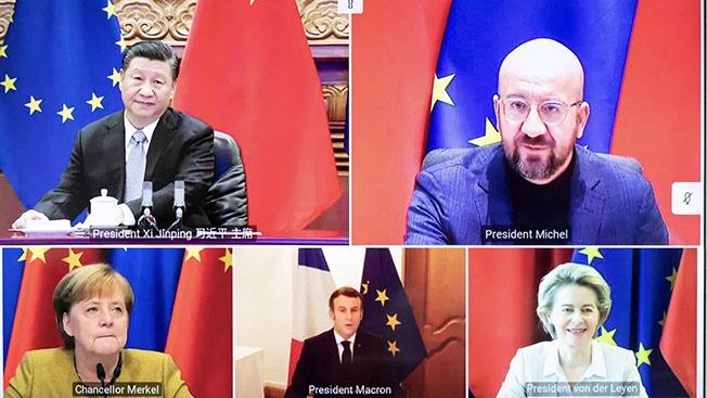 Европейско-китайский сюрприз для Байдена