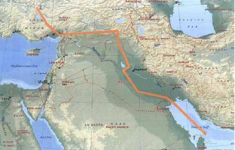 Идея строительства подконтрольного этим странам газопровода Катар-Турция заманчива для США и Турции.