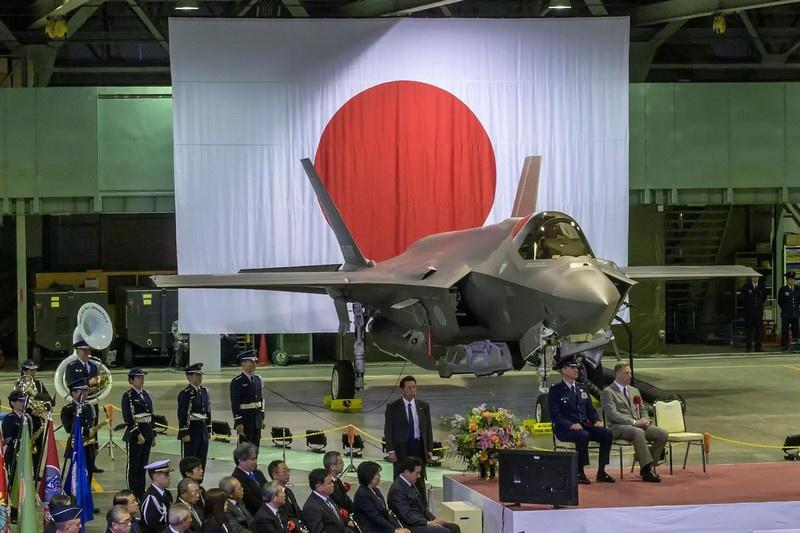 Боевая японская авиация развивается за счёт покупки американских истребителей F-35.