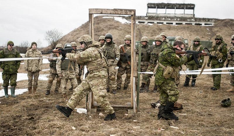 Основной обучающий центр НАТО, 184-й, создан на базе Яворовского полигона подо Львовом.