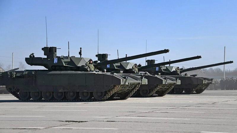 Т-14 - танк нового поколения, машина будущего.