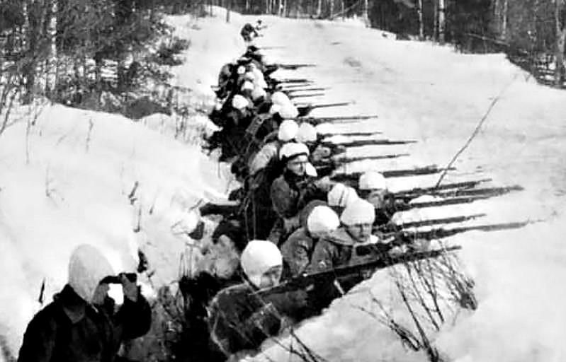 Белофинны в первую советско-финскую войну.