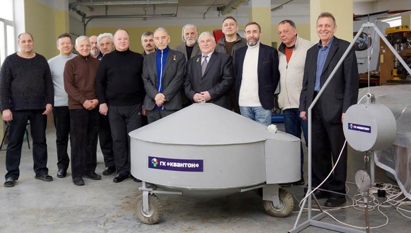Участники испытаний квантового двигателя КвД-1-2009 с горизонтальной и вертикальной тягой. 3 марта 2018 г.