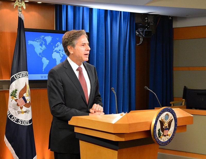Кандидат на пост госсекретаря США Энтони Блинкен заявил, что американское посольство в Израиле при администрации Байдена останется в Иерусалиме.