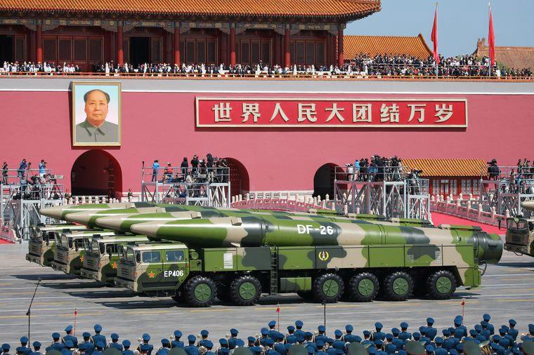 Развитием стратегических наступательных вооружений Китай претендует на роль полюса силы.