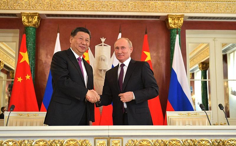 В политической торговле Россия для Китая абсолютно критичный компонент.