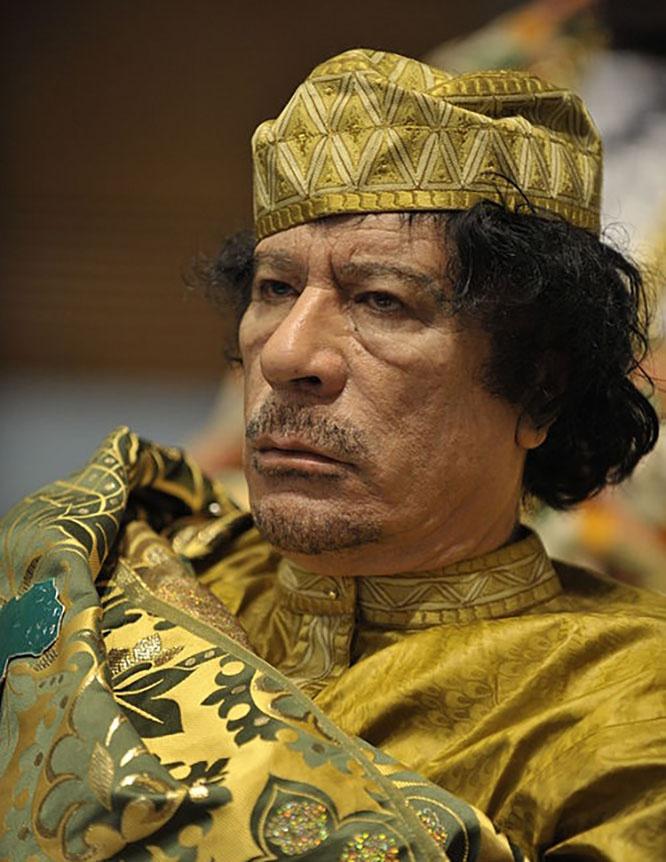 Муаммар Каддафи надеялся на сказочное превращение Израиля и Палестины в единую страну под названием «Изратина».