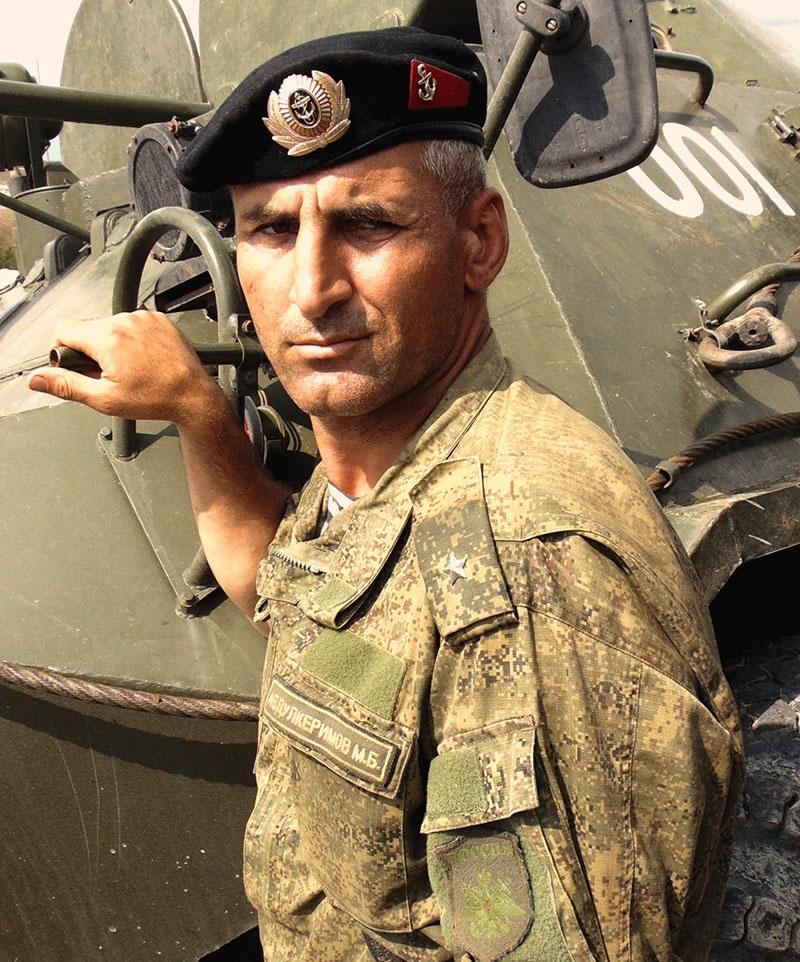Замполит майор Абдулкеримов оказывался в нужное время и в том месте, где он был наиболее востребован учебно-боевой обстановкой.