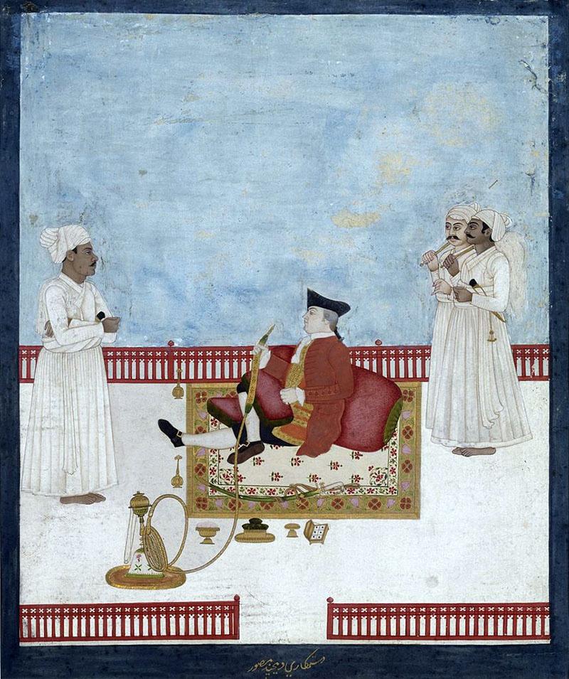 Ост-Индская компания господствовала в Индии более ста лет.
