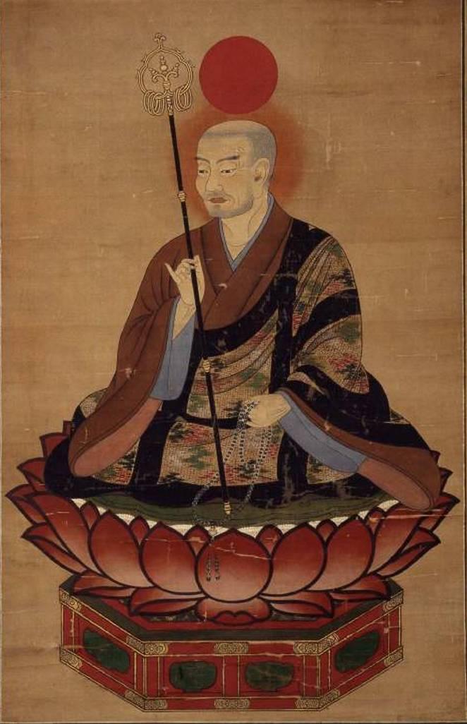 Хатиман - синтоистский бог войны, покровительствующий героям во время битвы.