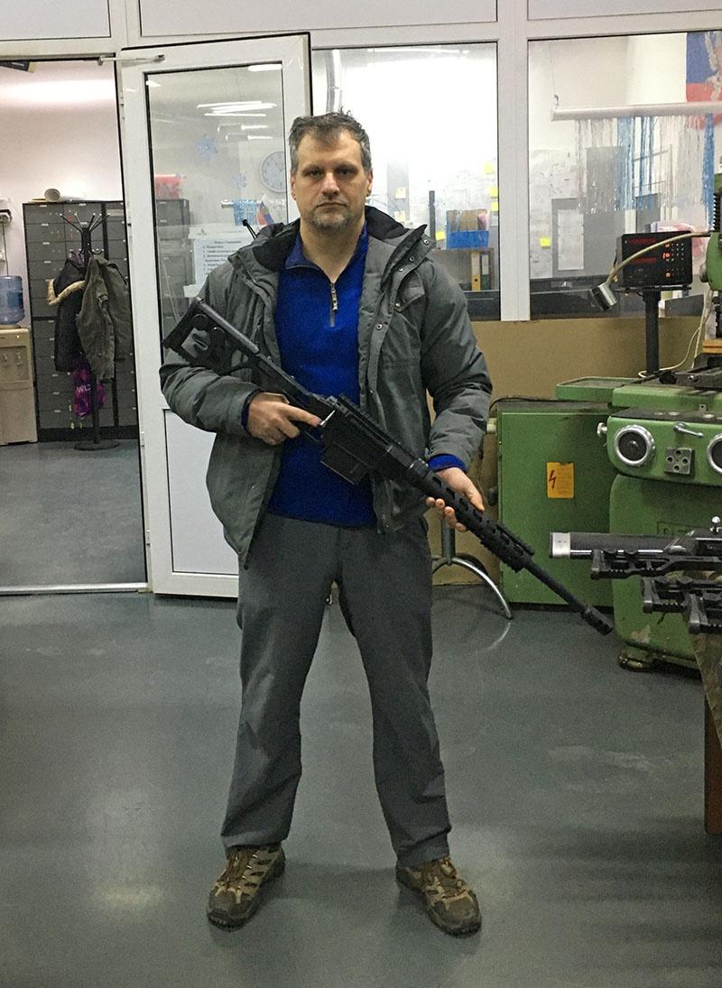 Конструктор стрелкового оружия Владислав Лобаев.