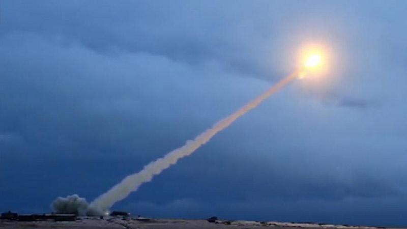 Испытание новейшей крылатой ракеты неограниченной дальности «Буревестник».
