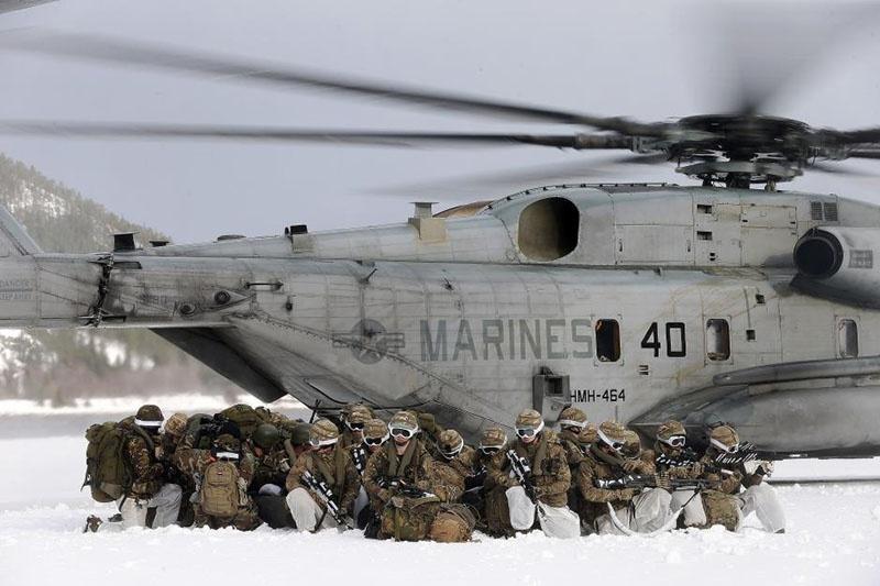 Правительство представило норвежскому парламенту новый доклад, в нём предлагается усилить присутствие союзников насевере страны, вособенности американских военнослужащих.