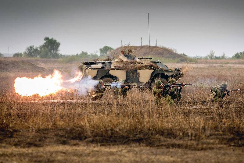 Военнослужащие ОГРВ совершенствуют свои профессиональные навыки постоянно.